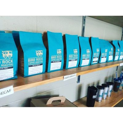Check out these new bags from @birdrockcoffeeroasters Bird Rock Rocks! Photo Cred: @birdrockcoffeeroasters #savorbrands #birdrockrocks