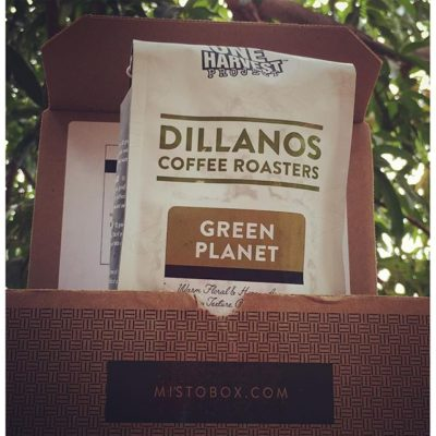 Cracked open our first @mistoboxcoffee and can't wait to try @dillanos Green Planet! #lifewithcoffee #roasterlove #greatbrandsbeginwithgreatpackaging