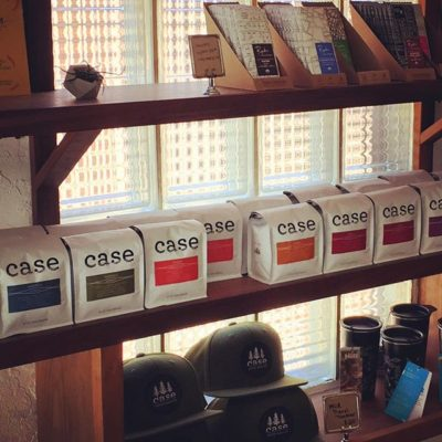 Casing out @case_coffee_roasters in #ashlandoregon #specialtycoffee #drinkgoodcoffee #greatpackaging