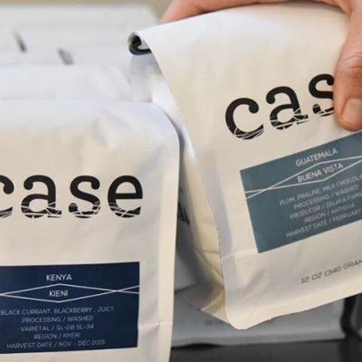 Seasonal delicious #coffee in delightful #packaging @case_coffee_roasters in #ashlandoregon #drinklocal #greatbrandsgreatpackage #regram 📷: @case_coffee_roasters