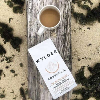 Organic probiotic #coffee made with love, 3 generations of wisdom and heat-resistant extremophile #probiotics @wyldercoffeeco #qualityinsideout #specialtycoffee #packaging #greatbrandsgreatpackage #regram 📷: @wyldercoffeeco