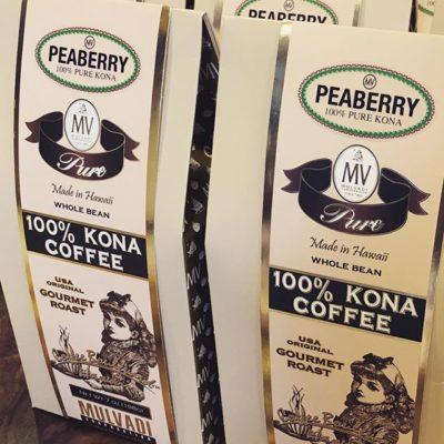 Bringing the taste of #paradise in every cup at #mulvadi #konacoffee #peaberry #packaging #qualityinsideout #greatbrandsgreatpackage
