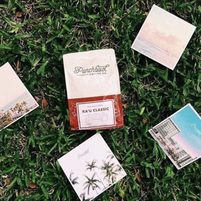 Serving up delicious #specialtycoffee and nurturing the #Hawaii creative community @punchbowlcoffee #singleorigin #luckywelivehawaii #coffeepackaging #customcoffeebags #coffeepackagingprinting #regram 📷: @punchbowlcoffee