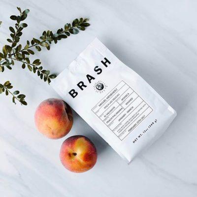 Each bag of simple, delicious @brashcoffee isn't just from a single region: It's from an individual farmer #greatbrandsgreatpackage #coffeepackaging #customcoffeebags #coffeepackagingprinting 📷: @brashcoffee