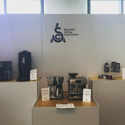 We are ready to go at the #coffeeexpo2017 #specialtycoffee #seattle come visit us tomorrow at booth 543