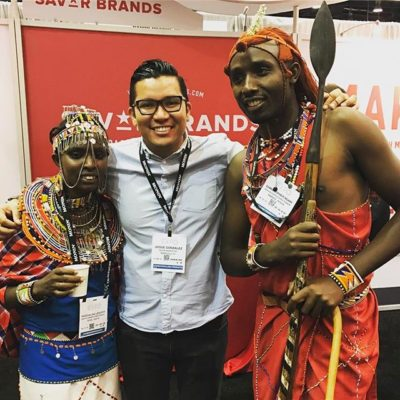 ❤️ meeting new people and making new friends around our shared passion for #specialtycoffee! #kenyacoffee @specialtycoffeeassociation #coffeeexpo2017 #coffeeexpo #coffeepackaging #customcoffeebags