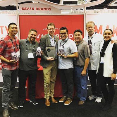 Thank you @specialtycoffeeassociation! We're incredibly honored to be named #BestNewProduct in Packaging! #coffeeexpo2017 #scaawards #coffeepackaging #customcoffeebags #coffeepackagingprinting #pono