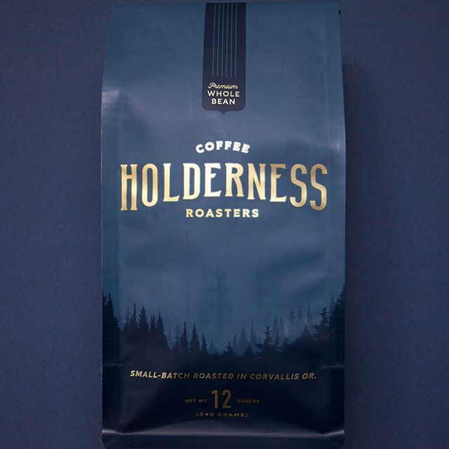 Roasted with passion, care, respect and integrity @holdernesscoffee in #corvallisoregon Beautiful #packaging designed by @factory_north #greatbrandsgreatpackage #coffeepackaging #customcoffeebags #coffeepackagingprinting