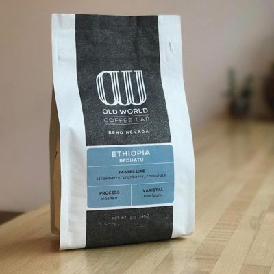 Dedicated to the pursuit of #quality in all things #coffee @oldworldcoffee in #Reno. This particular #specialtycoffee is produced by Bedhatu Jibicho, who is over 80 years old and has overseen the operations of her family's farm for more than 50 years. #greatbrandsgreatpackage #coffeepackaging #customcoffeebags #coffeepackagingprinting 📷: @oldworldcoffee