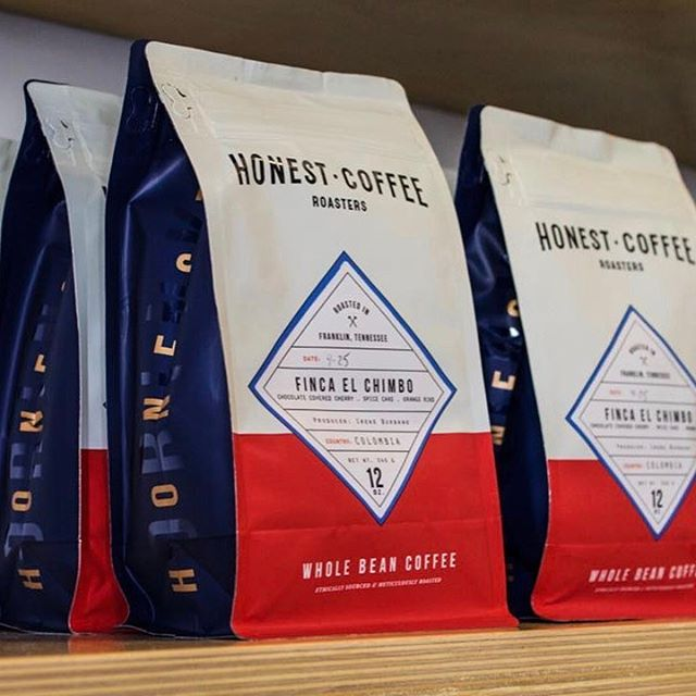 Ethically sourced, meticulously roasted and carefully brewed @honestroasters #greatbrandsgreatpackage #coffeepackaging #customcoffeebags #coffeepackagingprinting 📷: @honestroasters