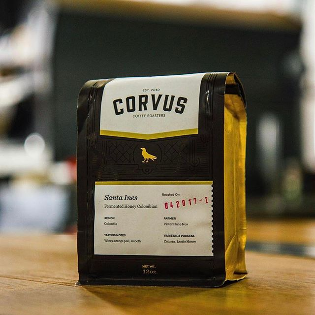 Quality #coffee from quality people @corvuscoffee #qualityinsideout #greatbrandsgreatpackage #coffeepackaging #customcoffeebags #coffeepackagingprinting 📷: @corvuscoffee