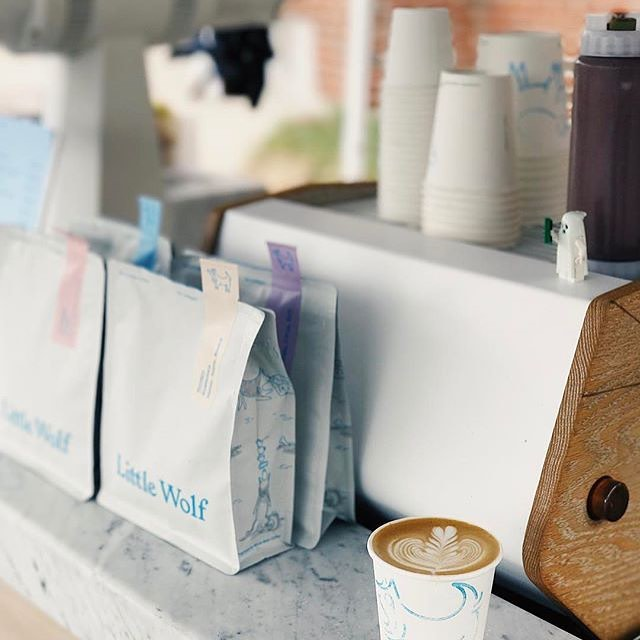 Congrats @lilwolfcoffee on your 1 year anniversary! 🎉 💙We're a fan of your tasty #specialtycoffee and beautiful #coffeepackaging, and wish you many more years of continued success! #coffeeandcompanions #greatbrandsgreatpackage #customcoffeebags #coffeepackagingprinting 📷: @lilwolfcoffee Design: @perkybros