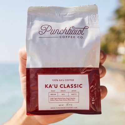 Single origin #specialtycoffee from the Ka'u district @punchbowlcoffee #qualityinsideout #coffeepackaging #customcoffeebags #coffeepackagingprinting 📷: @punchbowlcoffee
