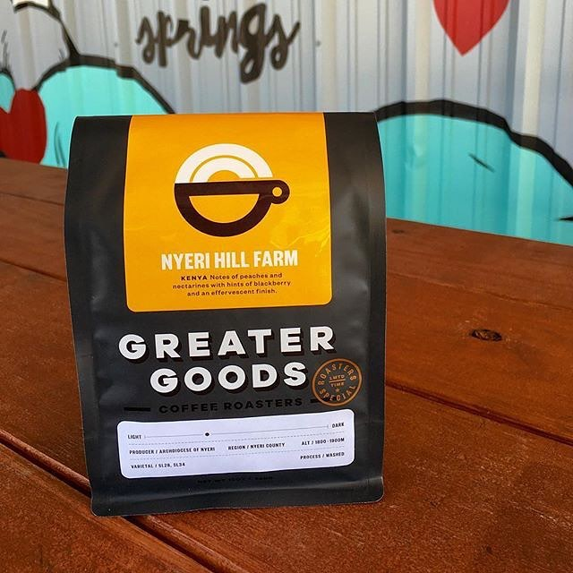 Committed to the fine art of #coffeeroasting and supporting their local community @gg_roasting in #AustinTX #letsmakegood #qualityinsideout #specialtycoffee #coffeepackaging #customcoffeebags #coffeepackagingprinting