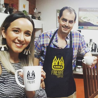 Excited for our newest project with Rodrigo @cafecate @firebatcoffee and happy to be of service to these talented #specialtycoffee experts! #elsalvadorcoffee #coffeepackaging #customcoffeebags #coffeepackagingprinting