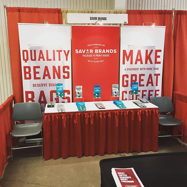 Red Skirts Are Sexy! @chocolate&coffeefestival #savorbrands #redskirtsaresexy #greatcoffeedeservesgreatpackaging