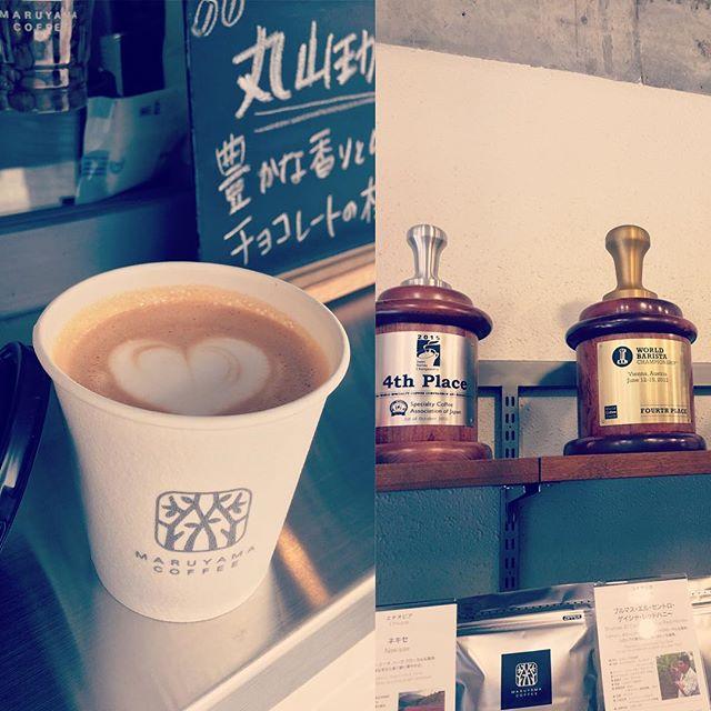 Always enjoy coffee prepared by a world class barista!  #savorbrands #maruyamacoffee