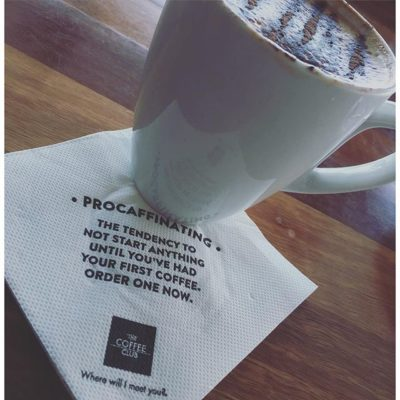 Are you a procaffinator? #savorbrands #thecoffeeclubaustralia #eaglestreetpier