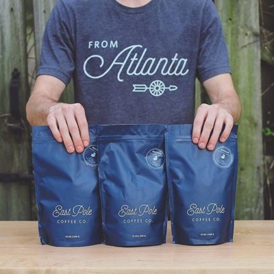 Jules Tompkins @eastpolecoffeeco shares his story on how East Pole is providing Atlanta with excellent locally roasted coffee in our latest Savor Spotlight. http://ow.ly/yIFO301lhPy #weloveatl #specialtycoffee #savorbrands #greatbrandsbeginwithgreatpackaging 📷: @cait_tompkins