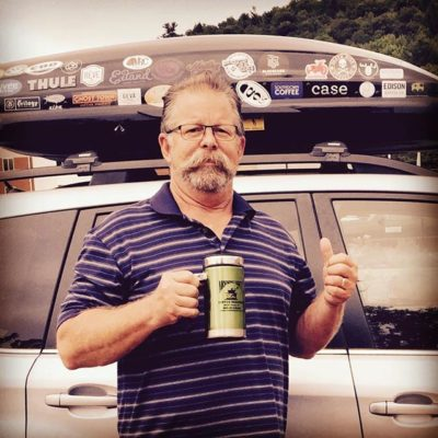 He's traveled more than 50,000 miles to visit 2,000 roasters and counting. Get to know Paul Read of Savor Brands – he just might be stopping by in his Subaru to see you! See link in bio  #coffeenerd #moustachelove #savorbrands