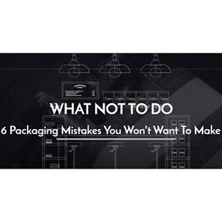 Ever wonder what you should or should NOT be doing when it comes to your #packaging? We've packaged up the 6 biggest #mistakes and how you can avoid them. Just click the link in our bio to read more.