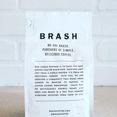 Simple, delicious #coffee and #packaging @brashcoffee #atl #specialtycoffee #zipperedpouch #easyaccess #greatbrandsgreatpackage 📷: @brashcoffee