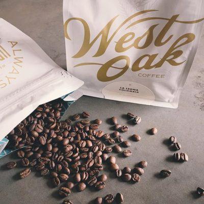 @westoakcoffee proudly roasted in #denton #texas #specialtycoffee #packaging #greatbrandsgreatpackage 📷: @westoakcoffee