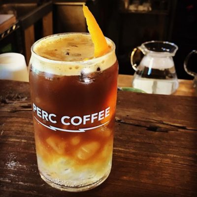 Insanely awesome #espresso tonic @perccoffee in #savannah #georgia #specialtycoffee #localcoffee #coffeetime #coffeebreak