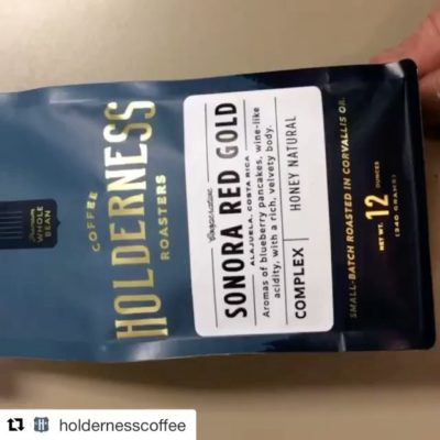Roasted with passion and care in the heart of #willamettevalley @holdernesscoffee #corvallis #oregon #specialtycoffee #packaging #greatbrandsgreatpackage #regram 📽: @holdernesscoffee