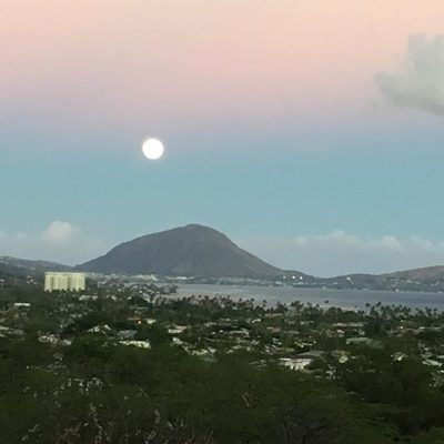#fbf to our view of the #supermoon #sunset #unfiltered #tgif happy #alohafriday! #friyay