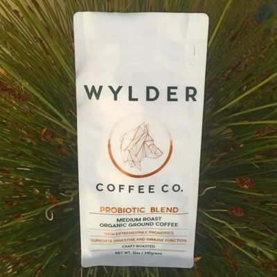 #probiotics + #specialtycoffee @wyldercoffeeco #wylderjourneys #greatbrandsgreatpackage #regram 📷: @wyldercoffeeco