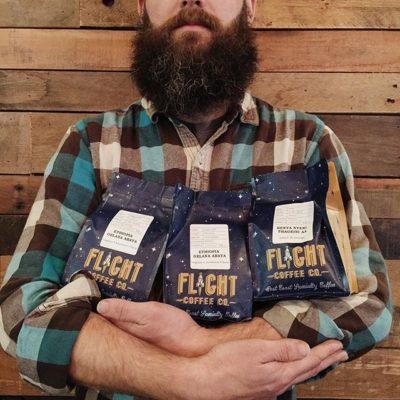 Mission accomplished! New #bags have taken flight @flightcoffeeco! #thirdwavecoffee #qualityfocused #eastcoast #specialtycoffee #greatbrandsgreatpackage #regram 📷: @flightcoffeeco