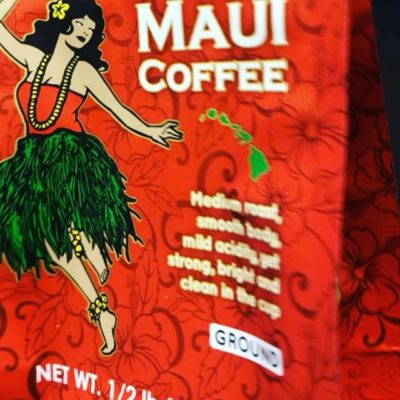 Dancing a little #hula through the holidays @mauicoffeeroasters #perfectbean #perfectclimate #specialtycoffee #packaging #qualityinsideout #greatbrandsgreatpackage