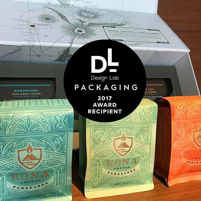 Congrats 🎊 @kcpurveyors on your @specialtycoffeeassociation Design Lab #Packaging award! #singleestate #highelevation #konacoffee #artisanroastcoffee #greatbrandsgreatpackage #coffeepackaging #customcoffeebags #coffeepackagingprinting