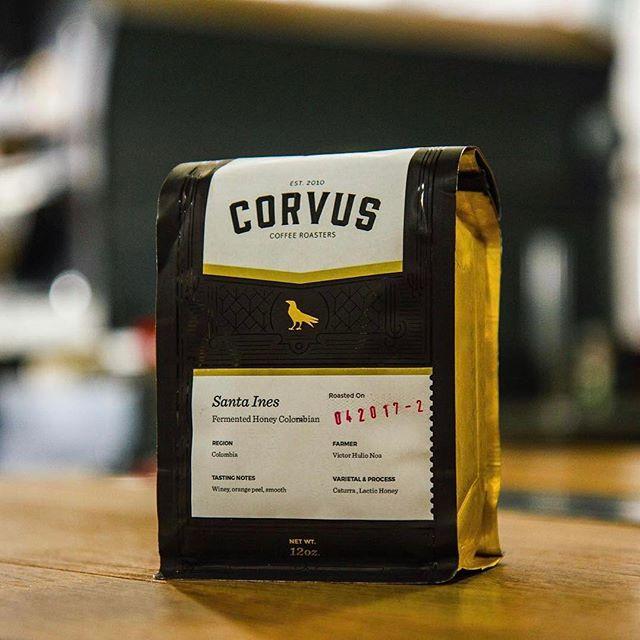 Quality #coffee from quality people @corvuscoffee #qualityinsideout #greatbrandsgreatpackage #coffeepackaging #customcoffeebags #coffeepackagingprinting 📷: @corvuscoffee