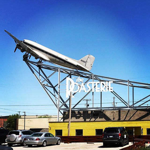 Taking #airroastedcoffee to new heights @theroasterie in #kansascity #directtrade #specialtycoffee