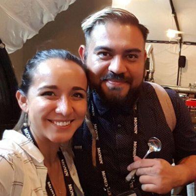 With US Cup Tasters Champion 🏆 Steve Cuevas @dreadfullvegan @roastersguild #Retreat 🙌🏽