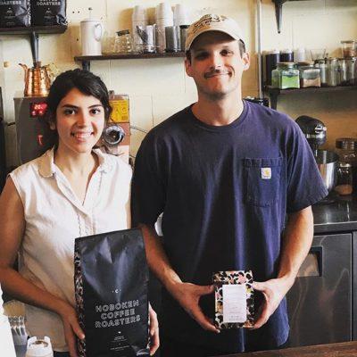 Kyrra and Kory @hobokencoffee in #GuthrieOK Perfectly roasted and packaged #specialtycoffee #qualityinsideout #coffeepackaging #customcoffeebags #coffeepackagingprinting
