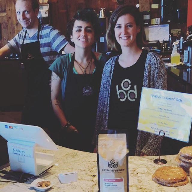 We're fans of the grand baristas @cbdportland! ☕️🙌🏽 #coffeebydesign #PortlandMaine #specialtycoffee #coffeepackaging #customcoffeebags #coffeepackagingprinting