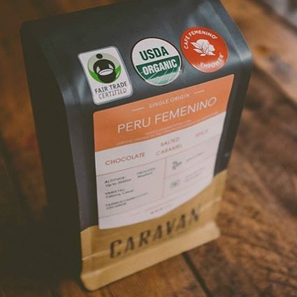 Hand-roasting delicious #specialtycoffee for more than 20 years @caravan_coffee in #NewbergOregon #fairtradecoffee #organiccoffee #qualityinsideout #coffeepackaging #customcoffeebags #coffeepackagingprinting 📷: @caravan_coffee