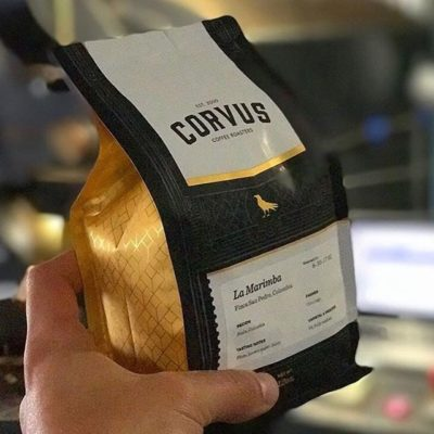 Good coffee comes from good people @corvuscoffee, with new resealable #packaging to ensure the freshest #specialtycoffee #qualityinsideout #coffeepackaging #customcoffeebags #coffeepackagingprinting 📷: @corvuscoffee