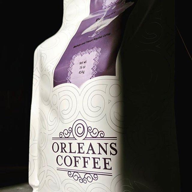 New Orleans' 1st #specialtycoffeeroaster since 1985 @orleanscoffee #qualityinsideout #coffeepackaging #customcoffeebags #coffeepackagingprinting 📷: @orleanscoffee_espressobar