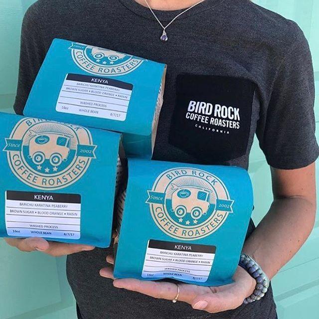 Always striving for perfection @birdrockcoffeeroasters #roasteroftheyear #qualityinsideout #coffeepackaging #customcoffeebags #coffeepackagingprinting 📷: @birdrockcoffeeroasters
