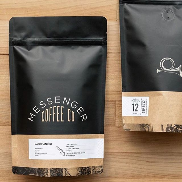 Roasting real good #coffee for the people @messengercoffee, while taking care of #coffeefarmers above and beyond the status quo #beyondfairtrade #specialtycoffee #coffeepackaging #customcoffeebags #coffeepackagingprinting 📷: @messengercoffee