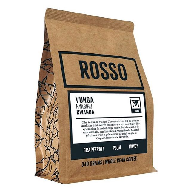 Vunga is a womens-led cooperative in Nyabihu, Rwanda, and one of the amazing producers that @rossocoffeeroasters is building relationships with to make great coffee in #Calgary. 🙌🏽 #qualityinsideout #specialtycoffee #coffeepackaging #customcoffeebags 📷: @rossocoffeeroasters
