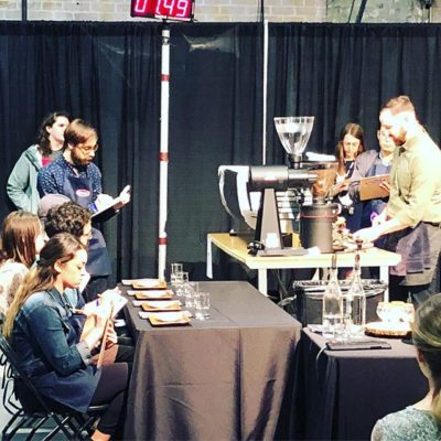Amazing experience serving as a guest judge at #USCoffeeChamps #nola #specialtycoffee #coffeeology #alwayslearning