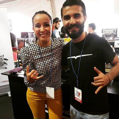 Felices de pasar un rato con Ariel Bravo! @barista.bravo Ganador del Campeonato Naciónal de Barismo 2017 & 2015 #costarica #puravida #baristalife