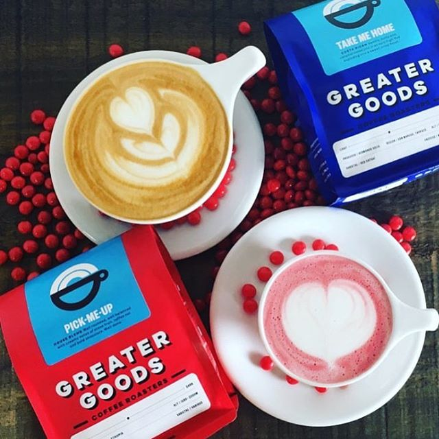 #specialtycoffee roasted extra-awesome in #AustinTX @gg_roasting, while doing good in the communities they serve ❤️ 🙌🏽 💙#qualityinsideout #coffeepackaging #customcoffeebags 📷: @gg_roasting