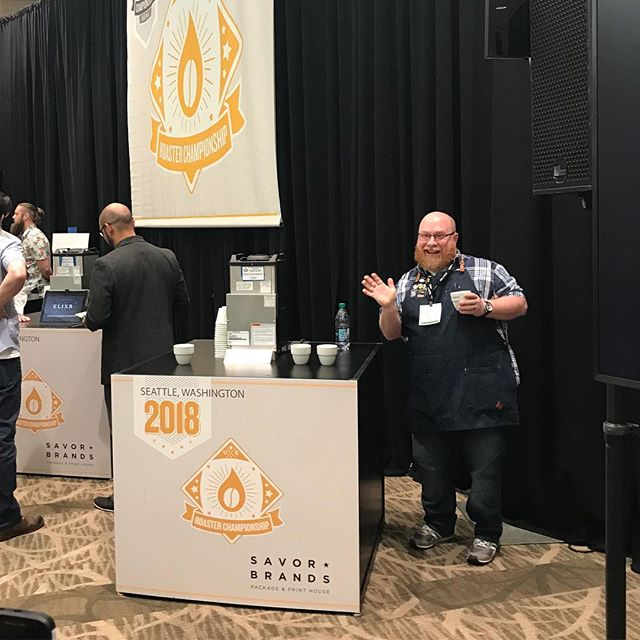 Best of luck to returning champion @mark_michaelson @onyxcoffeelab and all of the incredibly talented roasters at #USCoffeeChamps! #specialtycoffeeroaster