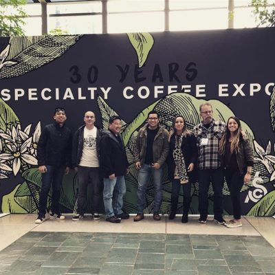 Excited to be at #CoffeeExpo2018! If you're in Seattle this weekend stop by booth #306 on the show floor and visit us in the Market at #USCoffeeChamps. #specialtycoffee #coffeepackaging #customcoffeebags